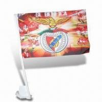 Buy cheap Car Flag with Digital Sublimation, Different Sizes are Available from wholesalers