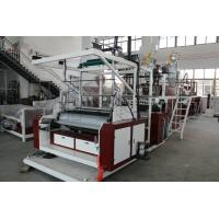 500-1500mm Width Plastic Wrapping Machine , Stretch Film Rewinding Machine Manufactures