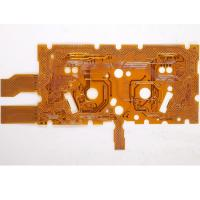 Buy cheap Double Sided Flexible PCB With Polyester Material Copper Thickness 0.15mm CE Rohs Compliant  With One Stop PCB Solution from wholesalers