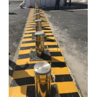Buy cheap Stainless Steel Bollards Hydraulic Road Blocker Variable Frequency Controller With LED Light from wholesalers