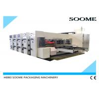 Buy cheap High Precision Flexo Printer Slotter Die Cutter PLC Control For Corrugated Cartons from wholesalers