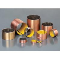 Wholesale High Precision Oilless Bushing All Oiles Bronze Bearing , Oil Free Bushings from china suppliers