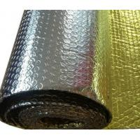 Buy cheap One side golden VMPET other side aluminum foil bubble for construction insulation from wholesalers
