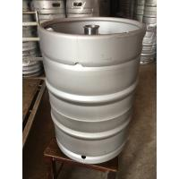 Buy cheap Craft keg 50L Europe keg with logo emboss, keg fitting on top , for brewery product