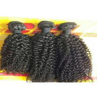 Buy cheap Raw Unprocessed Kinky Curly Weave Hair Extensions 100% Virgin Human Hair from wholesalers