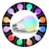Buy cheap 8W Wifi Enabled LED Light Bulb Smart Phone Control , Led Smart Color Changing from wholesalers