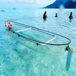 Buy cheap Fire Resistant Vacuum Thermoform Kayak , UV Retardarce Plastic Fishing Boat from wholesalers