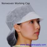 Buy cheap Disposable Nonwoven Working Cap/Snood Cap/Bouffant Cap/Surgical Cap/Doctor Cap/Nursing Cap from wholesalers