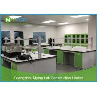 Buy cheap Green Color Laboratory Furniture Systems Lab Working Table For Pathological Easy Clean from wholesalers