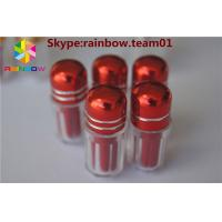 Buy cheap Pill packaging capsule contianer with metal cap sex pill packaging capsule bottle with printed cap sex capsule packaging from wholesalers