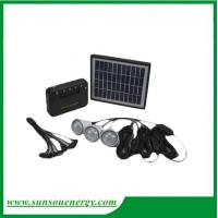 Buy cheap Solar home lighting kits, mini solar system with high lumence for hot selling from wholesalers