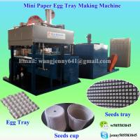 Buy cheap egg tray machine 4000pcs/hr Paper product making machinery of paper pulp egg tray machine (Whatsapp:0086-15153504975) from wholesalers
