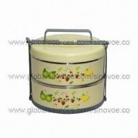 China Insulated food carrier, customized specified colors and logos are accepted on sale