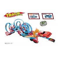 Wholesale Kids Exciting Toy Race Car Track Sets With Consecutive 11 Loops 360° Rotation from china suppliers