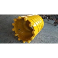 Buy cheap 20mm Thickness 1500mm Diameter Roller Bit Core Barrel , Drilling Bucket Auger from wholesalers