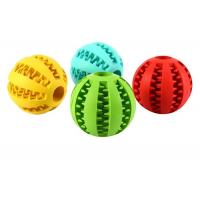 Buy cheap Watermelon Pattern Ball Tiny Puppy Toys , Durable Food Grade Plastic Dog Balls from wholesalers