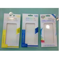 Buy cheap high quality cardboard  Mobile Screen Protector Film packaging with competitive price from wholesalers