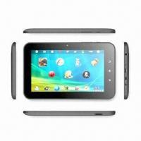 Buy cheap 7 Tablet PC, Bluetooth/GPS/Global Analog TV/MTK6513 650MHz/2G GSM/3G WCDMA/512MB RAM/4GB Storage from wholesalers