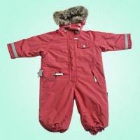 Buy cheap Children's Winter Coveralls with Detachable Hood, Ideal for Children of 2-8 Years' Old from wholesalers