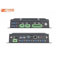 Buy cheap Dual Port ZC328 I7 Linux Embedded Fanless Industrial PC System from wholesalers