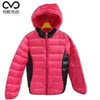 Buy cheap Comfortable Kids Winter Down Jacket Fix Hoody Two Color 90% Duck Down Material from wholesalers