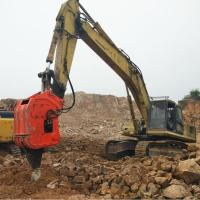 Buy cheap Vibro Ripper Excavator Ripper Attachment 22-24 MPa  Hydraulic Working Pressure from wholesalers
