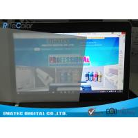 Buy cheap Lightbox Front Print Backlit Film 165 Micron , Matte Inkjet Backlit Film Scuff Resistant from wholesalers
