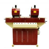 Buy cheap Leather Belt Making Machine Double Heads Hydraulic Punching Machine from wholesalers