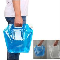 BPA Free Foldable Drinking Bottle / Outdoor Portable Sports Folding Water Bottle Manufactures