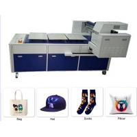 Buy cheap A3 T Shirt Dtg Flatbed Printer Long Platform Digital Printing 260kg Weight from wholesalers