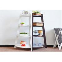 Buy cheap Freestanding Storage Rack Shelf Wooden Corner Display Shelf With 4 Tier from wholesalers