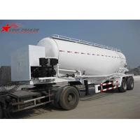 Buy cheap Customised Special Tank Truck For Fly Ash / Stone Powder / Aluminum Powder from wholesalers
