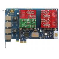 Wholesale AEX410 4 Port Asterisk Card with 3FXO&1FXS PCI Express Card from china suppliers