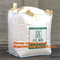 Buy cheap 100% PP Woven FIBC Jumbo Bags for Sand, fibc bulk bag with four loop bags, big jumbo bag, Cheap china fibc big bags from wholesalers