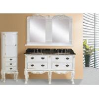 Buy cheap China Double Sinks  Bathroom Cabinets Factory from wholesalers