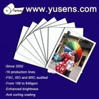 Buy cheap 115gsm High Glossy Inkjet Photo Paper from wholesalers