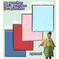 Buy cheap PEVA Colourful and Disposable Poncho (LY-PR-001) from wholesalers