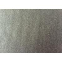 Buy cheap 60wool40other charcoal  Color plainlow weight   Melton Wool Fabric from wholesalers