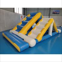 Buy cheap Commercial Inflatable Ladder With 0.9mm PVC Tarpaulin For Water Sport Games from wholesalers
