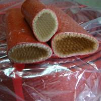 Buy cheap Silicone Coated Glass Fiber Flame Retardant Cable Sleeve for hose cable wire protection from wholesalers