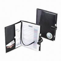 Buy cheap Simulated Leather Book Cover with Magnetic Closure, Measures 10 x 7.5-inch from wholesalers