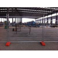 Buy cheap AS4687-2007, 2100mm*2400mm,made in china ,Portable Hot-DIP Galvanizing Temporary Fence for Construction Site from wholesalers