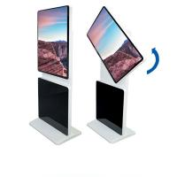 Buy cheap 55 Inch PC Rotating Kiosk Display Touch Screen Aluminum Frame 178 Degree Viewing Angle from wholesalers