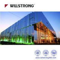 Buy cheap Fireproof Mirror Aluminum Composite Panel Cladding For Buildings 5600mm Length from wholesalers