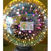 Buy cheap 95*135mm 3D Magic Decorative Filament Led Light Bulbs With Glass Material from wholesalers