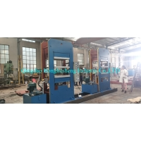 Buy cheap Large Plate Vulcanizing Press Sealing Ring Silicone Rubber Moulding Press Machine from wholesalers