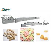 Buy cheap Full Automatic Dog Biscuit Making Machine , Stainless Steel Pet Food Processing Line from wholesalers
