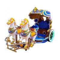 Buy cheap Amusement Park Kids Electric Animal Horse Ride Shopping Mall Battery Operated from wholesalers