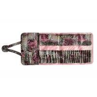 Buy cheap Colorful Handy Clutch Purse Makeup Brush Roll Bag Pen Holder Case Crocodile Texture from wholesalers