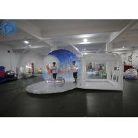 Buy cheap Custom Christmas Ornaments large inflatable Christmas snow globe product